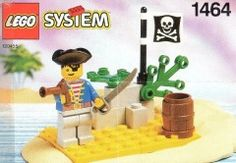 BrickLink - Set : Lego Pirate Lookout polybag [Pirates:Pirates I] - BrickLink Reference Catalog Old Lego Sets, Pirate Lego, Classic Lego, Lego Boxes, Free Lego, Lego Ship, Vintage Lego, Lego Group, Lego Parts