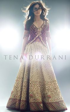 Tena Durrani - Naurattan (B47) Book an Appointment: www.tenadurrani.com/naurattan-2 For queries, orders and appointments inbox us, email at info@tenadurrani.com or contact +92 321 232 4600. #tenadurrani #designerwear #shopnow #Omorose #FPW15 #bridals #weddings #pakistaniweddings #brides #weddingwear #Swarovski #crystals
