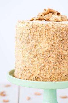 Your favorite cereal in cake form! Cinnamon cake cream cheese  Mein Blog: Alles rund um die Themen Genuss & Geschmack  Kochen Backen Braten Vorspeisen Hauptgerichte und Desserts