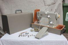PFAFF AUTOMATIC 262 Original Tasche, Fußanlasser, Nadelhalter uvm. ...
