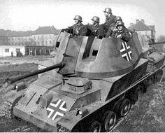 Hungarian 40mm 36/40 M. Nimród tank destroyer