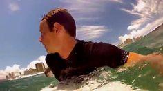 Surfing Waikiki - GoPro Head Cam Part 3 #surfingwaikiki #surfinghawaii #surfinggopro