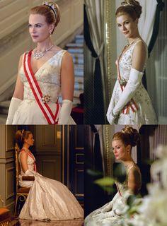 """""""It looks like Nicole Kidman in Grace Kelly's outfit."""" -"""