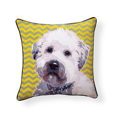 Wheaten Terrier Pooch Decor Decorative Pillow