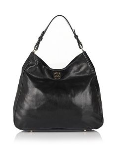 Tory Burch Dena Leather Hobo | Bloomingdale's - classic