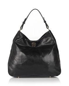 Tory Burch Dena Leather Hobo | Bloomingdale's - classic