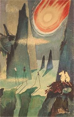 Tove Jansson – Moomin and the Comet at Ateneum, Helsinki