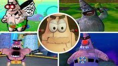 Video Game Characters, Spongebob, Evolution, Battle, Boss, Games, Videos, Youtube, Sponge Bob