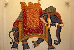 India. The country I get tons of inspirations from. The use of their colors, fabrics of their clothes, the way they express their style... Who would ever thought of decorating an elephant so beautifuly like this one?