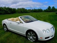white convertible bentley. one day you will be mine.