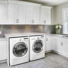 Contemporary Laundry Room Design, Pictures, Remodel, Decor and Ideas - page 36