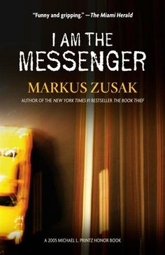 I am the Messenger by Markus Zusak. Just started this book today- stay tuned for a blog post coming soon!