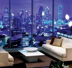 1. Live in a high-rise condo.