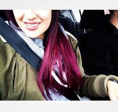 Hair style. :)
