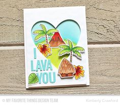 For the Love of Paper: I Lava You: MFT Stamps August Release Countdown