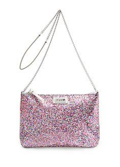 TOUCH rainbow beaded purse by Mango