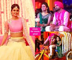 Check inside pictures of Harbhajan Singh and Geeta Basra's mehendi and sangeet! #HarbhajanSingh  #GeetaBasra