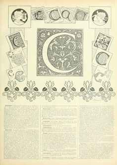 On this Sunday afternoon, I'm sharing C from the Noveau Larousse Illustré: The…