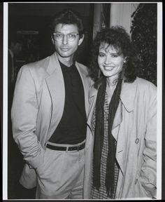 Jeff Goldbloom and Geena Davis, hotties!