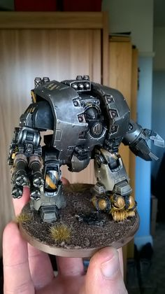 Iron Warrriors Leviathan by Chris 'Chanda' Lear‎ of 30k Iron Warriors Players Facebook group