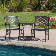 Best Selling Home Decor Furniture Tomei 3 Piece Seating Group Tete-a-Tete Bench Set - 239086