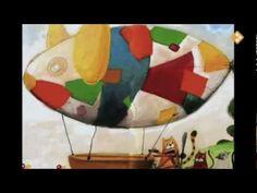 Molto vliegt (digitaal prentenboek) Zeppelin, School, Painting, Painting Art, Paintings, Painted Canvas, Drawings