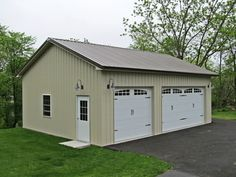Garage and Storage Building Construction - Pole Building & Post-Frame | TOLL FREE (800) 366-4801 | Attached Garage | Stand Alone Garage | Storage Buildings | Any Size or shape from simple to elaborate, with only Quality Materials and Warranties | Shingle Roof, Vinyl Siding, Wood Siding, Brick or Stone.– Hanover Building Systems – Serving PA and MD