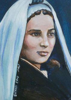 st bernadette   Saint Bernadette Soubirous Painting - Saint Bernadette Soubirous Fine ...