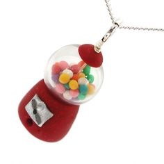 Handmade Gifts | Independent Design | Vintage Goods Gumball Machine Necklace - Jewelry - Girls