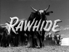 Rawhide is an American Western TV series starring Eric Fleming and Clint Eastwood that aired for eight seasons on the CBS network from January 1959 to September 1965 before moving to Tuesday nights from September 1965 until January Tv Theme Songs, The Blues Brothers, Tv Themes, The Lone Ranger, Tv Westerns, Old Shows, Popular Shows, Popular Series, Western Movies