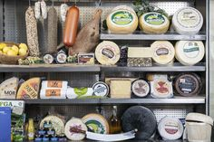 We specialise and pack the highest quality meats and cheeses from across the Country including Cooleeney cheese, Guebeen, Kileen cheese and more! Meat And Cheese, Grocery Store, Deli, Wine Recipes, Wines, Restaurant, Country, Food, Rural Area