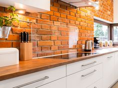 Dream Home Design, My Dream Home, House Design, Kitchen Backsplash, Kitchen Cabinets, Flat Ideas, Family Room, House Plans, Storage