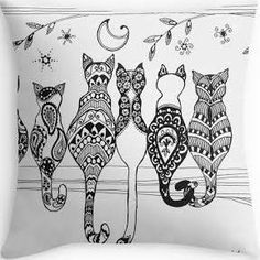 cat cushions - Google Search
