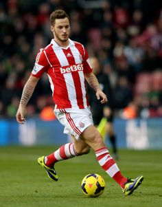 Marko Arnautovic of Stoke City Stoke City Fc, English Premier League, Football Players, Soccer, Club, My Love, Boys, Sports, Game