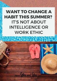 If you want to break a habit or build a habit, if you're struggling with motivation or productivity, this is for you! Read on for why changing habits isn't about intelligence or work ethic and…