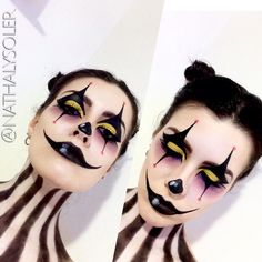 ❣️ freaky clown #halloween #clown #makeup