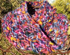Ravelry: Big Colors Cowl pattern by Diane L. Augustin