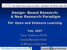Design- Based Research: New Research Paradigm