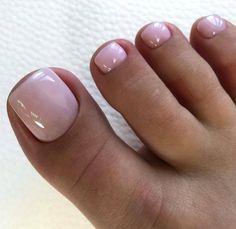 Frensh Nails, Gel Toe Nails, Pink Toe Nails, Manicure, Pretty Toe Nails, Toe Nail Color, Summer Toe Nails, Cute Toe Nails, Feet Nails