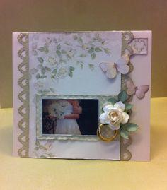 Scrappiness: Bryllupskort Creative Inspiration, Ann, Paper Crafts, Frame, Design, Decor, Picture Frame, Decoration, Tissue Paper Crafts