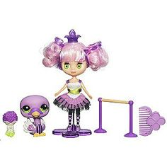 BLYTHE Loves LITTLEST PET SHOP - COLORFULLY CUTE Collection – PURPLE RIBBONS AND TWIRLS # B43