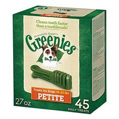GREENIES Dental Dog Treats, Petite, Original Flavor, 45 T... https://www.amazon.com/dp/B000KBFKIQ/ref=cm_sw_r_pi_dp_x_08MmybPDYMYZR