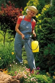 Organic Gardening Pest Control  Need to get out my overalls ~ She is way too cute