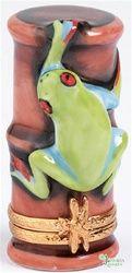 RedEyed Tree Frog, Limoges box