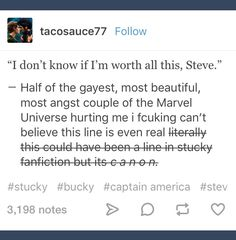 """It seemed like the Russos compiled their favourite fanfics and put them together and Marvel was like """"ok keep that all in, we love that but cut down the hugs and kisses because #JustBrosNoHomo""""."""