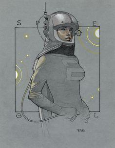 TRAVIS CHAREST ART / SPACEGIRL UNIVERSE