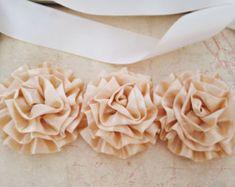 Marco nupcial marfil y oro, marfil y oro cinturón nupcial, nupcial, boda oro marco. Cinturón de Novia de Satén