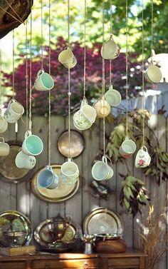 Steampunk garden inspiration