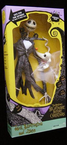 Nightmare Before Christmas 1993 Jack Skellington #collectibles #collectables #dolls #toys #disneyana #nightmarebeforechristmas #gifts