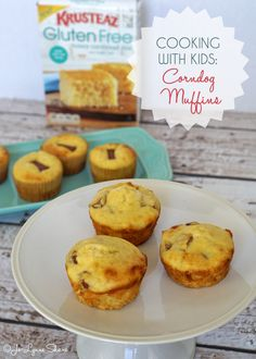 Cooking with Kids: Corndog Muffins